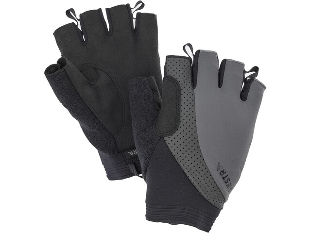Hestra Apex Reflective Short Finger Gloves dark grey